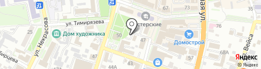 СВ на карте Уссурийска