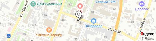 Служба доставки товаров из ИКЕА на карте Уссурийска