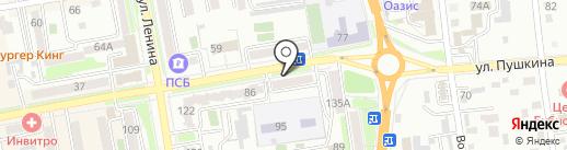 Центр народного творчества на карте Уссурийска