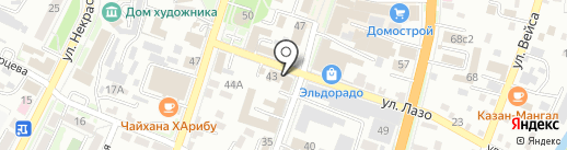 Студия дизайнерских решений на карте Уссурийска