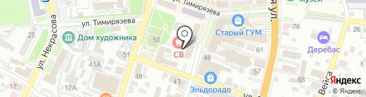 Муравейник на карте Уссурийска