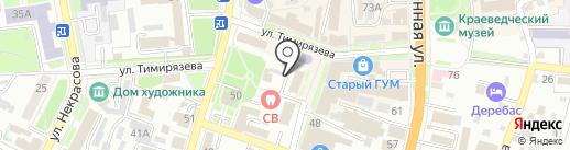 Уссурийский Главпочтамт на карте Уссурийска