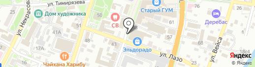 Lora на карте Уссурийска