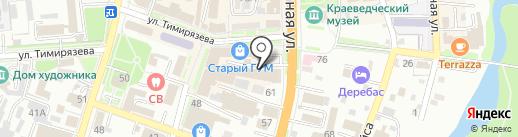 Топтыгин на карте Уссурийска