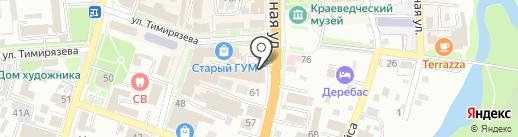 Магазин замков на карте Уссурийска