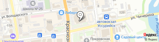Gadget на карте Уссурийска