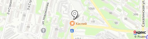 Шиномонтажная мастерская на карте Владивостока