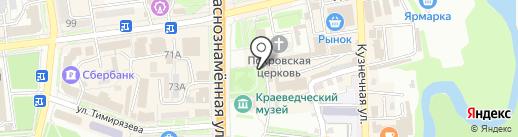 Мастерская по ремонту обуви и изготовлению ключей на карте Уссурийска