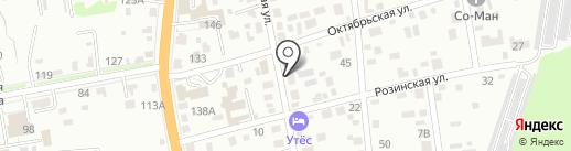 Фабрика окон на карте Уссурийска