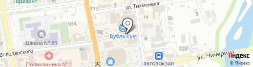 Happy Land на карте Уссурийска
