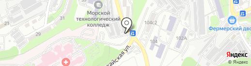 Сервисная компания на карте Владивостока