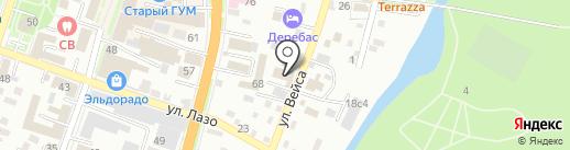 Карлсон Жилищник на карте Уссурийска