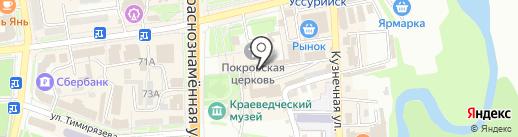 Компания по скупка-продаже драгоценных металлов на карте Уссурийска