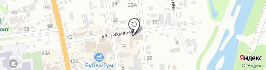 Семья на карте Уссурийска