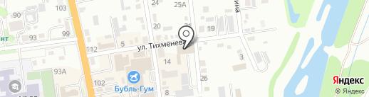 Джел Ко на карте Уссурийска