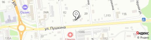 Природный Камень на карте Уссурийска