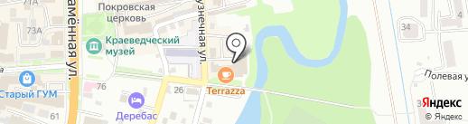 Студия СМ на карте Уссурийска