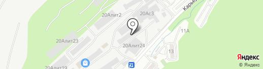 Кварц Деко на карте Владивостока
