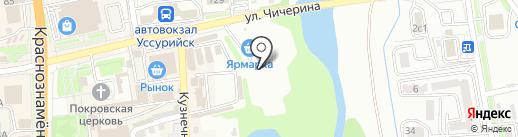 Центр авторазбора на карте Уссурийска