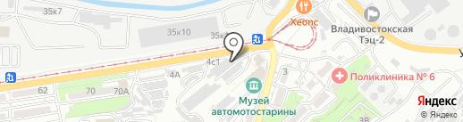 Люкс на карте Владивостока