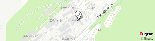 Ребиком на карте Владивостока