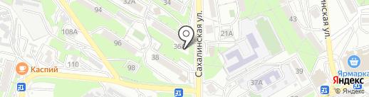 Монастырёв.рф на карте Владивостока