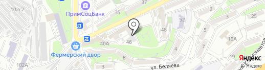 Магазин женского белья на карте Владивостока