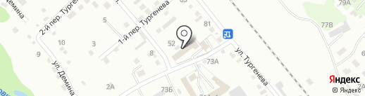 Автомойка на Тургенева на карте Уссурийска