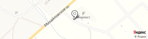 Черепашка на карте Уссурийска