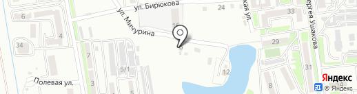 Scan Master на карте Уссурийска