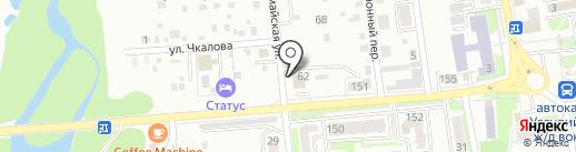 Штормавто-Pole Position на карте Уссурийска