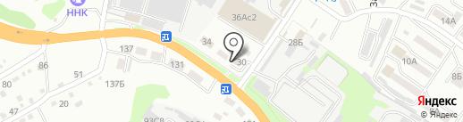Аптека Миницен на карте Уссурийска