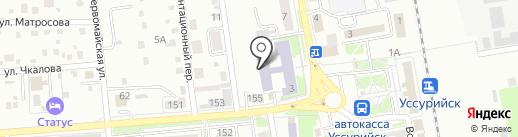 ПримИЖТ на карте Уссурийска