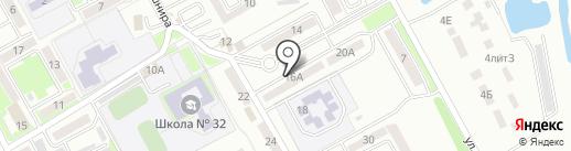 Clicks на карте Уссурийска
