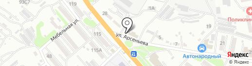 Bar`Bossa на карте Уссурийска