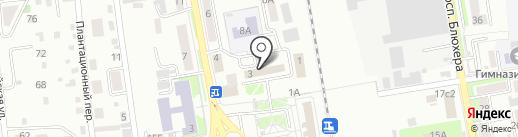 Банк ВТБ 24 на карте Уссурийска