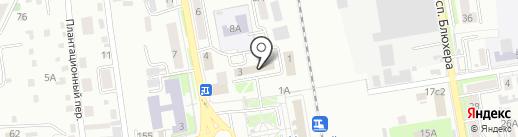 Дистанция гражданских сооружений ст. Уссурийск на карте Уссурийска