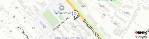 Позитив на карте Уссурийска