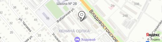 Участковый пункт полиции №1 на карте Уссурийска