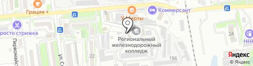 Autofox на карте Уссурийска