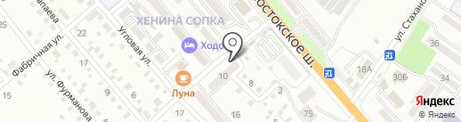 Натали на карте Уссурийска
