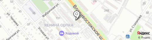 Ветеран на карте Уссурийска