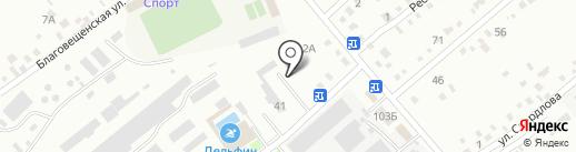 Стандарт на карте Уссурийска