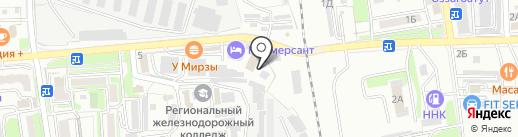 Коммерсант на карте Уссурийска