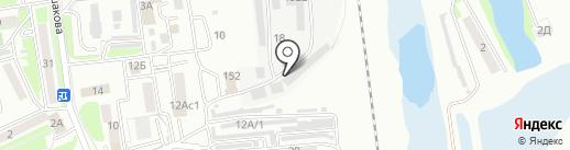 Фабрика стирки ковров на карте Уссурийска