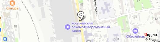 Анна на карте Уссурийска