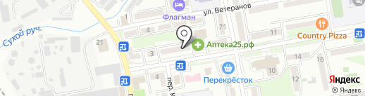 Монастырёв.рф на карте Уссурийска