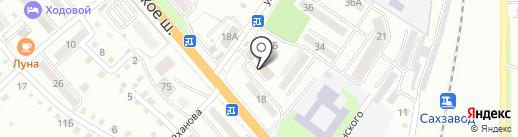Наш Маркет на карте Уссурийска