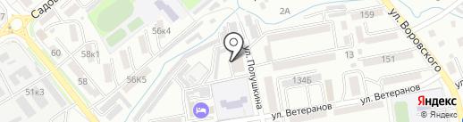 Народный на карте Уссурийска