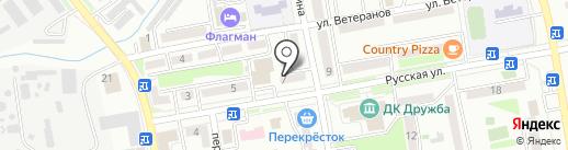 Одежда на карте Уссурийска